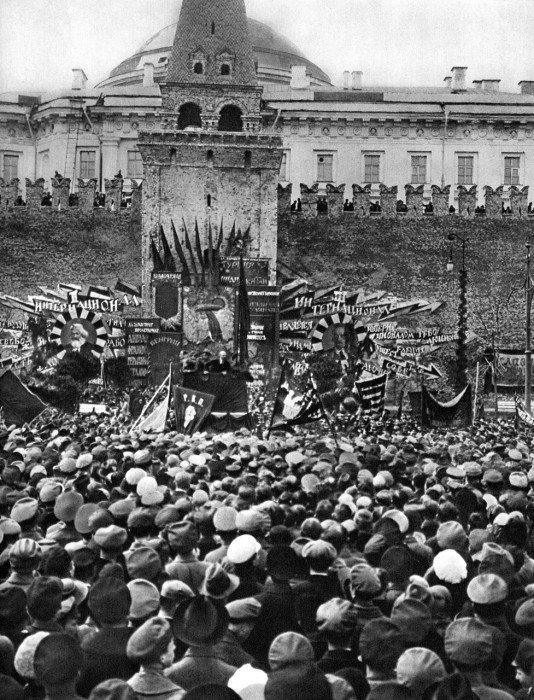 Москва, 1 мая 1919 года