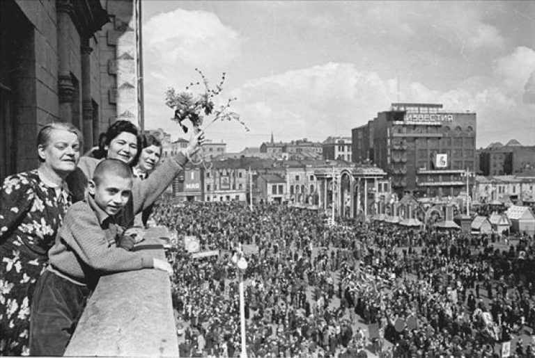 Москва, 1 мая 1950 года