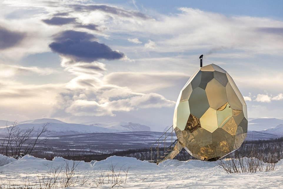Сауна в Швеции - Солнечное яйцо