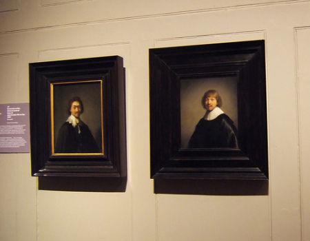 Парные портреты в Далвичской галерее