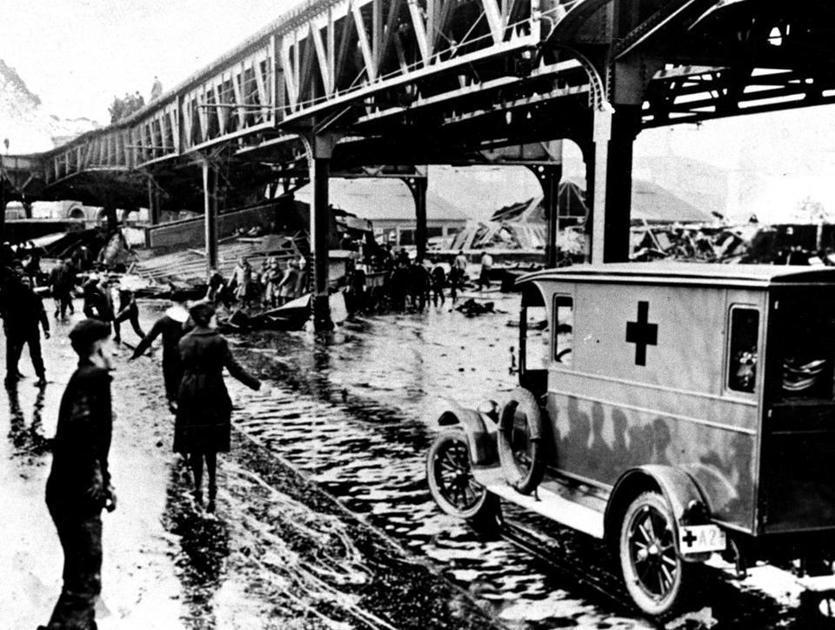 Скорая в Бостоне 1919 года