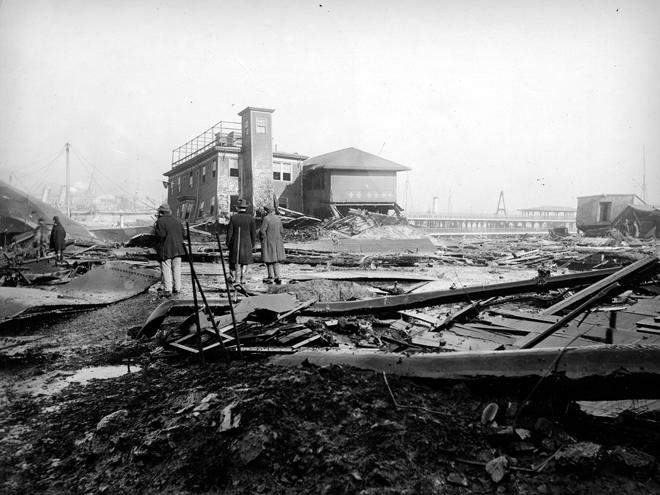 Разрушения в Бостоне 1919 года