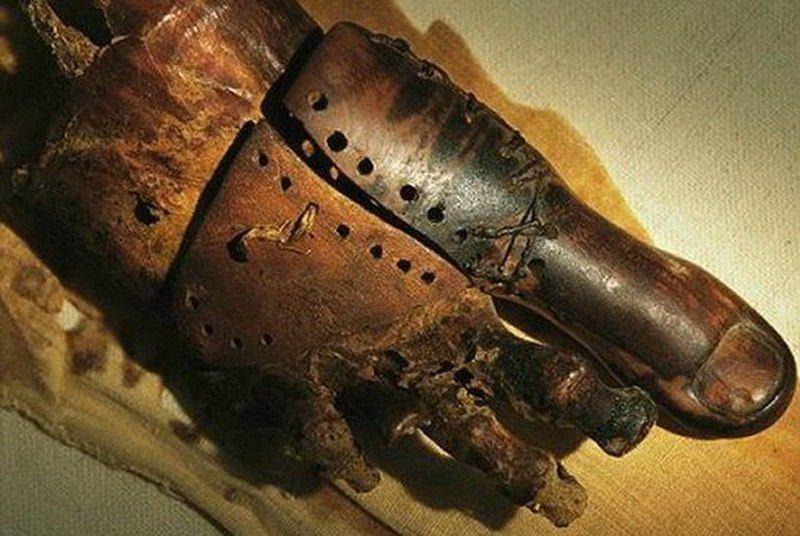 Пиноккио Санчес и его деревянный протез