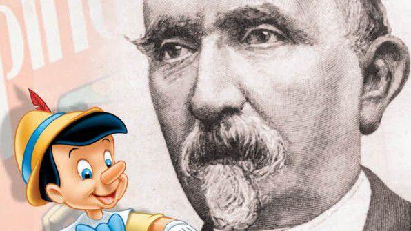 Карло Коллоди с Пиноккио