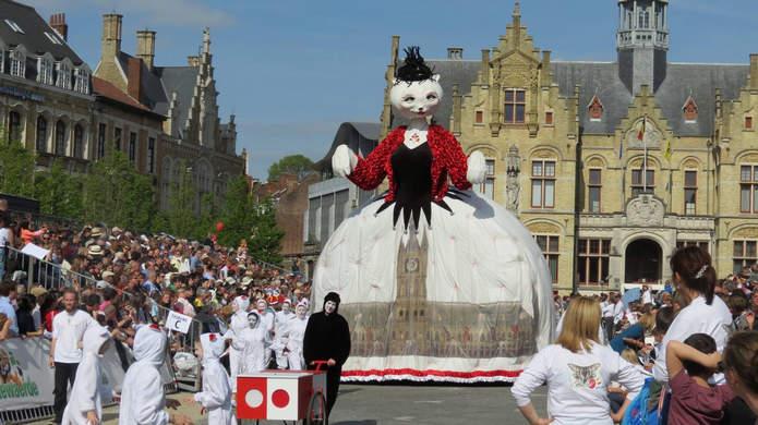 Фестиваль кошек во Фландрии