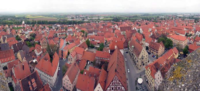 Современный город Нёрдлинген