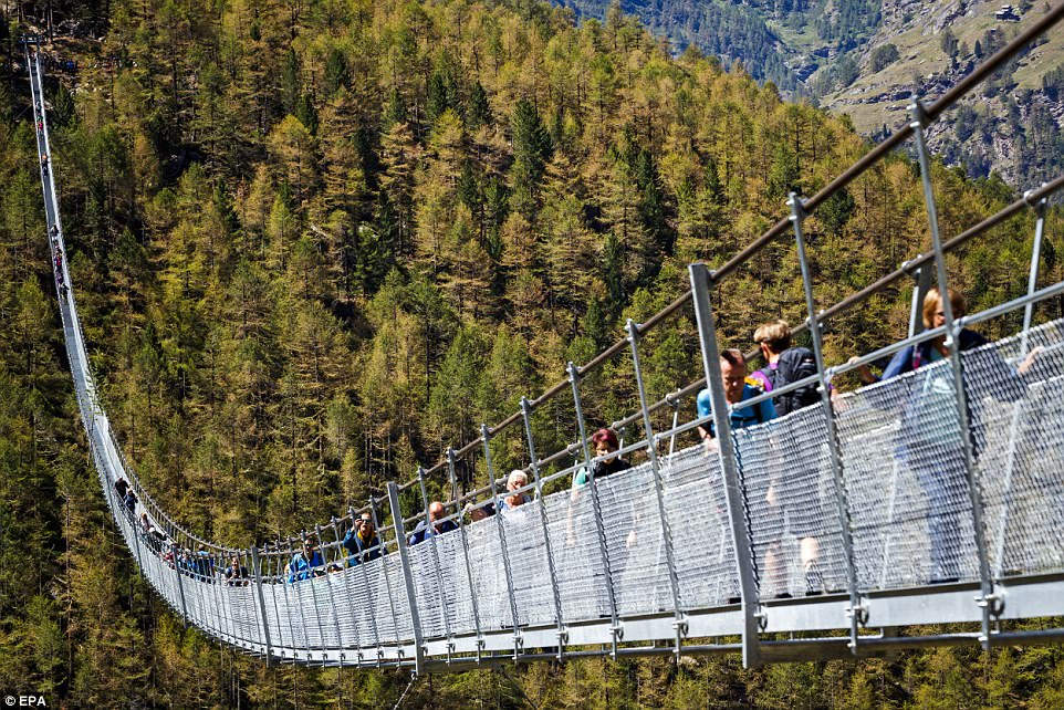 Европейский мост в Швейцарии