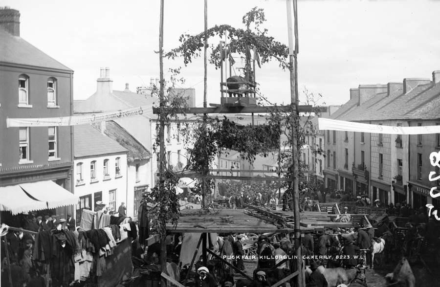 Ярмарка Puck Fair в 1900 году