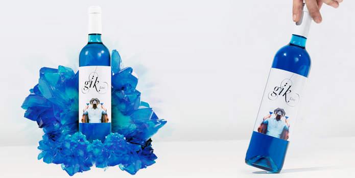 Голубое вино Gïk
