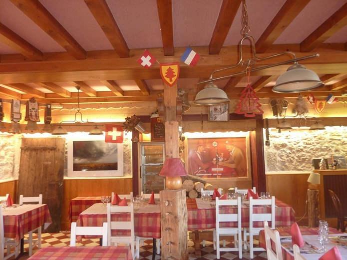 Ресторан находится как раз на границе