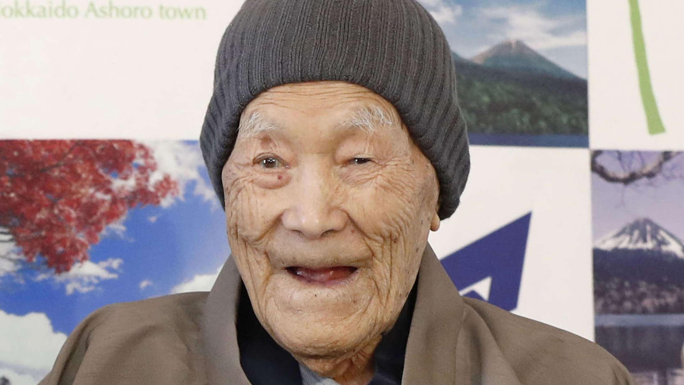 Самым старым мужчиной на Земле был признан японец Масадзо Нонака