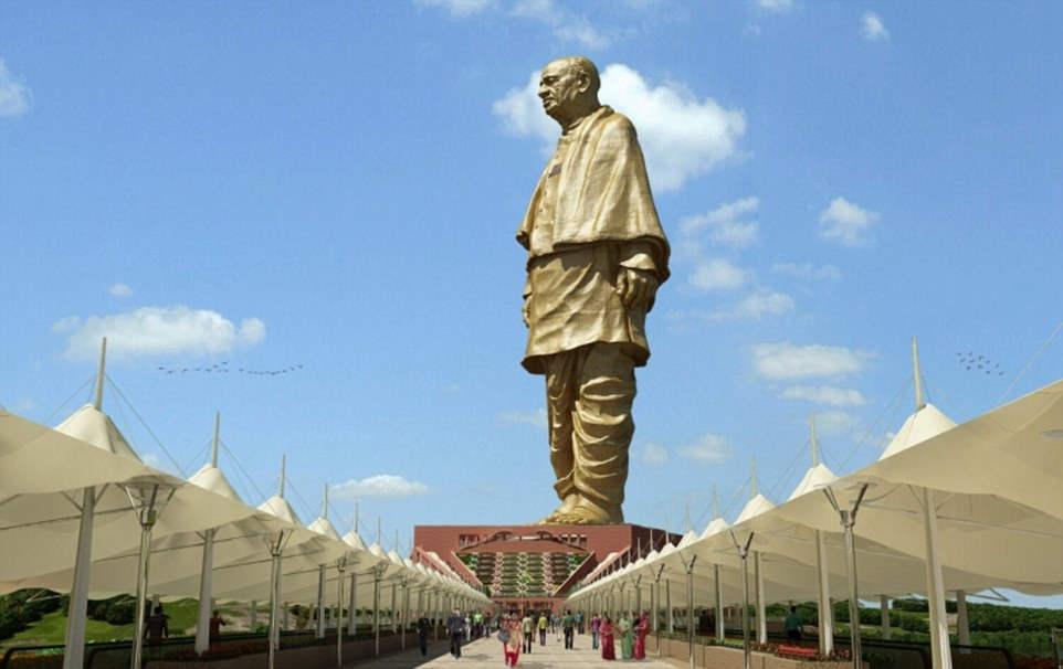 Самая высокая статуя в мире: Статуя Единства (Индия)