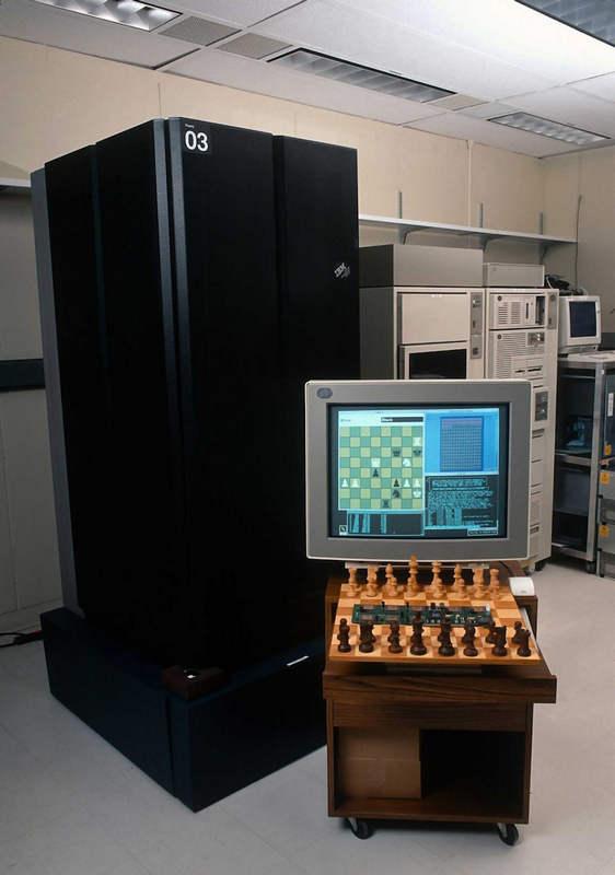 Deep Blue в штаб-квартире IBM в Армонке, Нью-Йорк
