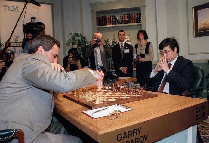 Первый ход Каспарова