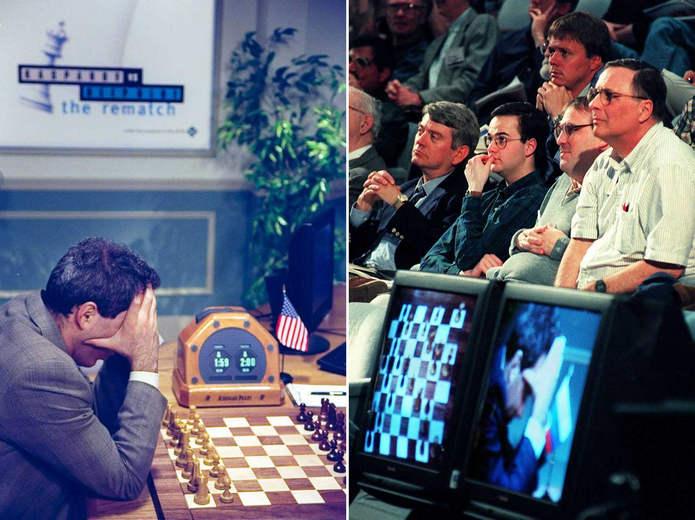 Ожидание хода Каспарова
