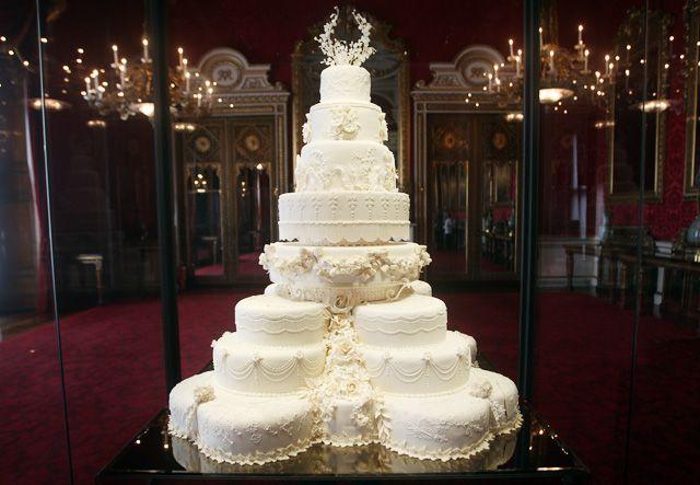 Свадебный торт принца Уильяма и Кейт Миддлтон
