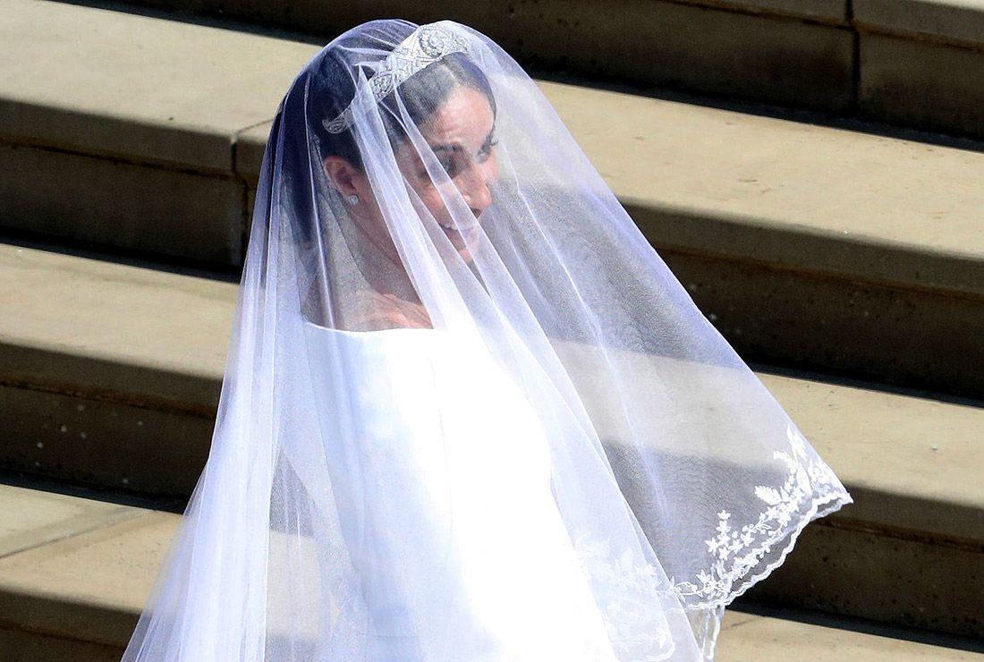 Меган Маркл в свадебном платье