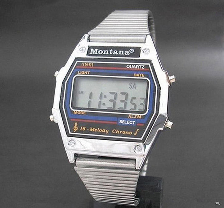 Электронные часы Montana