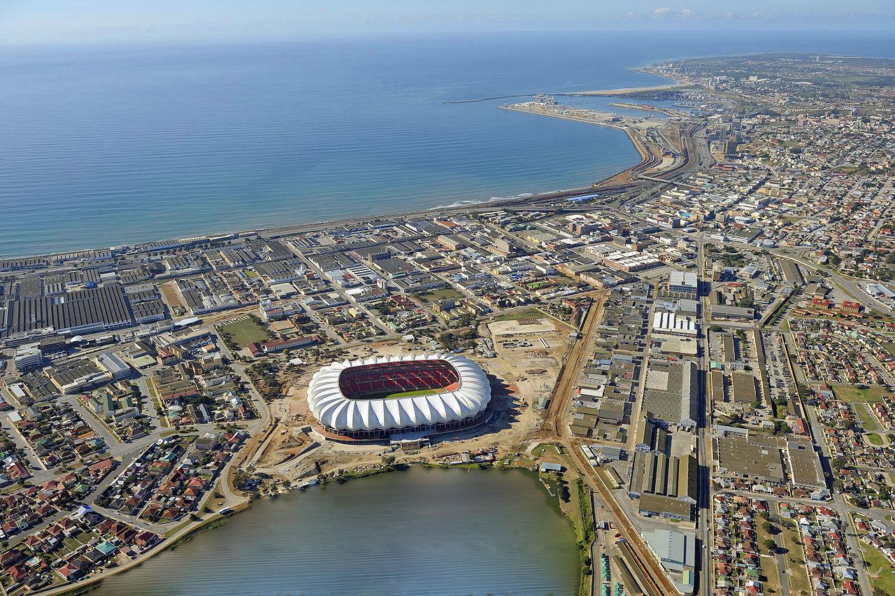 Бухта Нельсона Манделы со стадионом