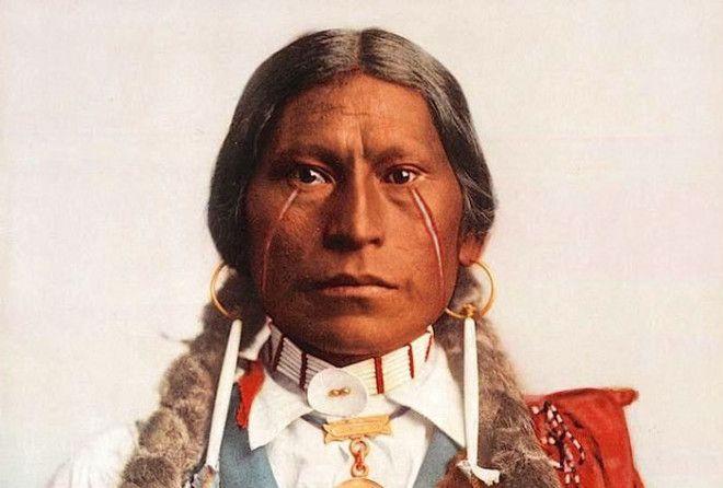 Джеймс Гарфилд, вождь племени апачи-хикарилья, 1899