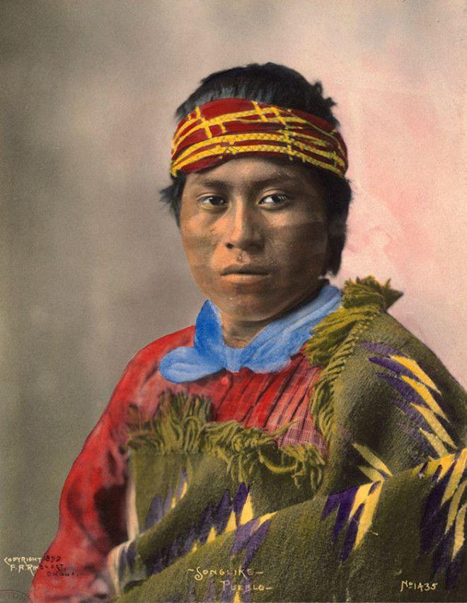 Песнеподобный из народа пуэбло, 1899