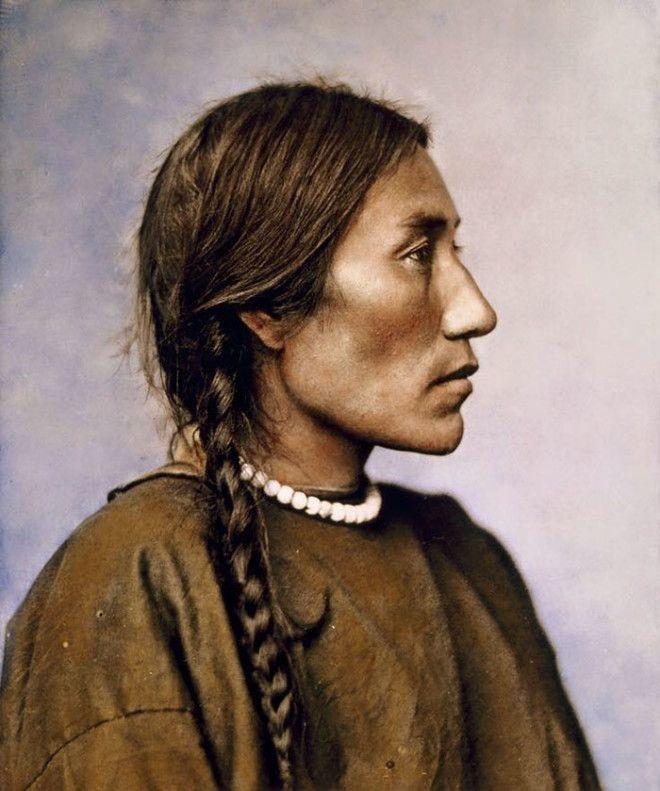 Женщина из племени шайеннов, 1879