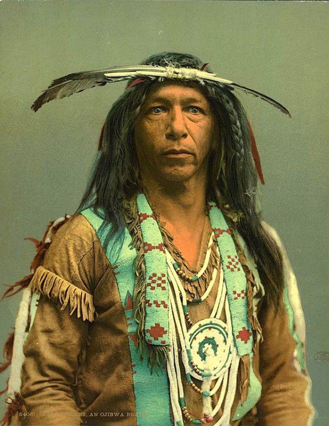 Изготовитель Стрел, мужчина из народа оджибве, 1903