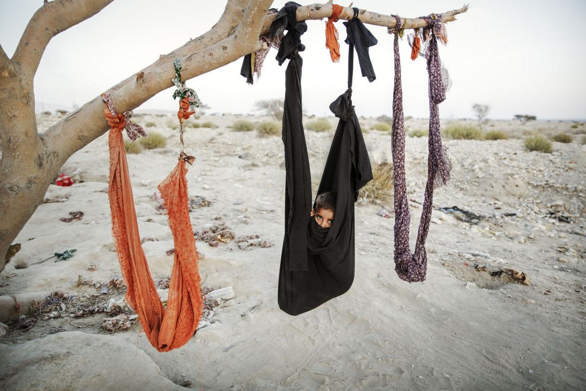 Цыганский ребёнок Автор фото: Шахаб Насери.