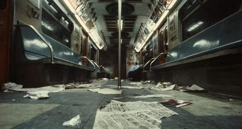 Опасное метро Нью-Йорка 70 - 80 годов 20 века