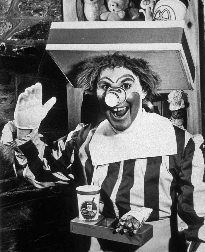 Первый Рональд Макдональд, 1963 год.
