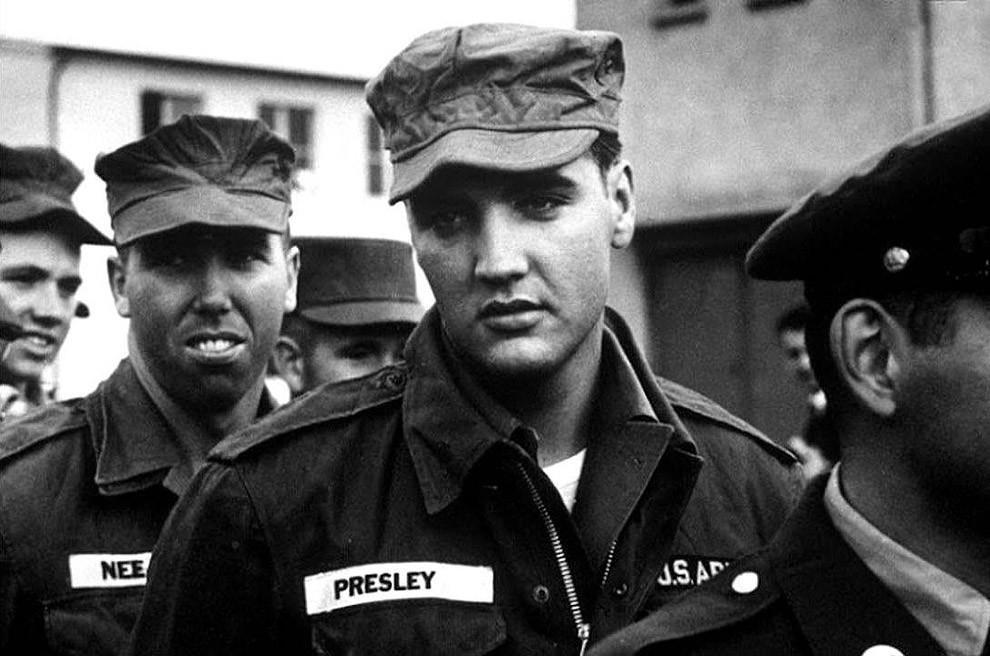 Элвис Пресли в армии, 1958 год.