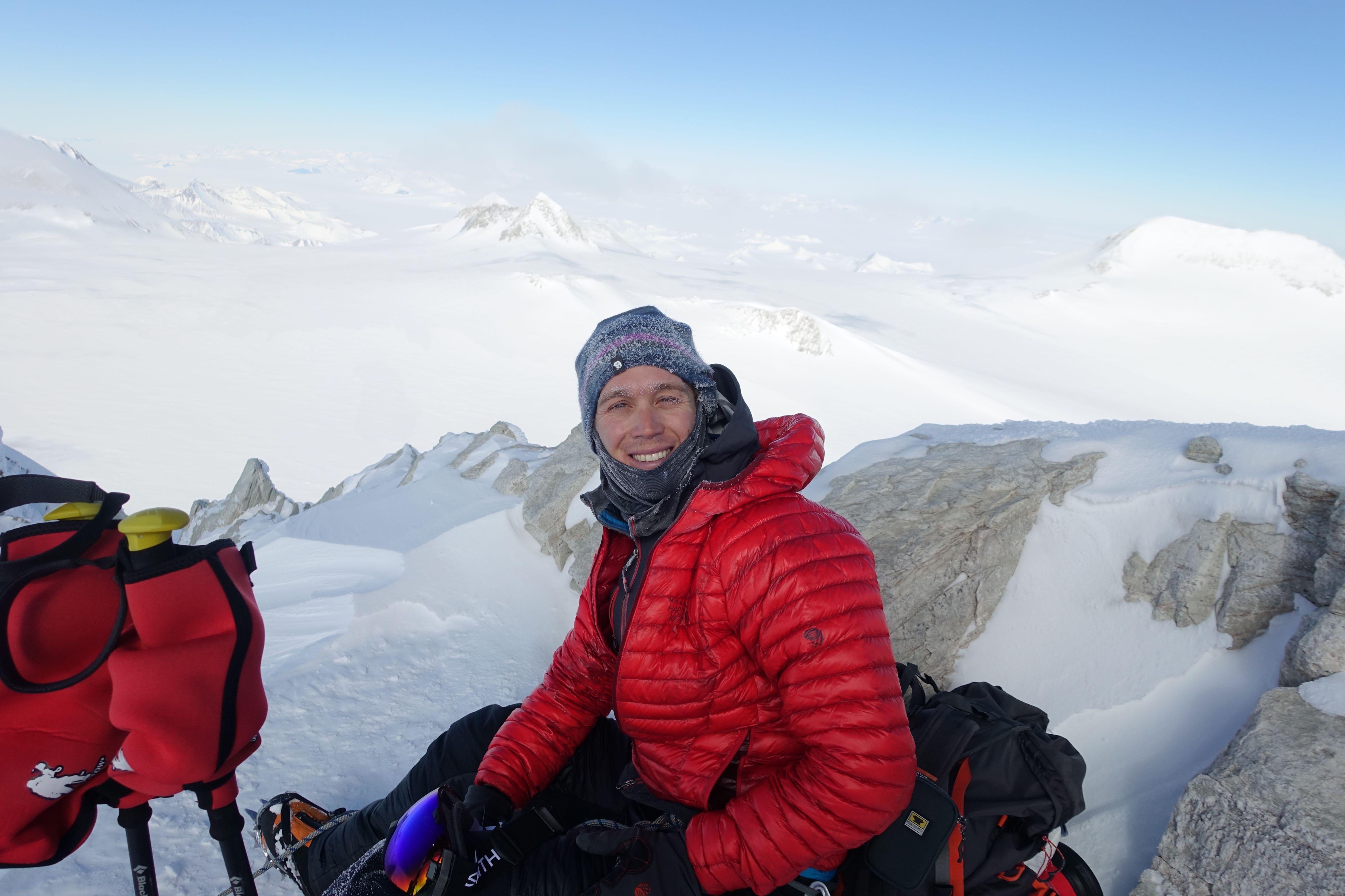 В октябре 2018-го Колин О'Брэйди публично высказался о намерении покорить Антарктиду.