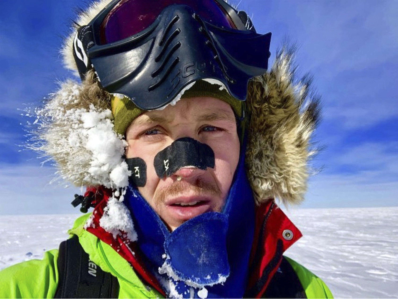 Колин О'Брэйди первый человек перешедший Антарктику в одиночку