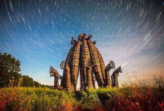 Арт-парк «Никола-Ленивец», Калужская область