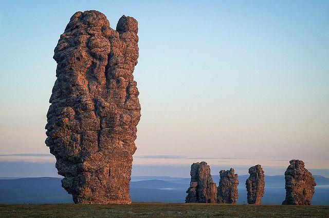 Каменные столбы, Коми