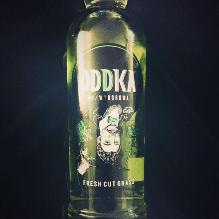 Польская водка со вкусом свежескошенной травы. Цена — 10 долларов.
