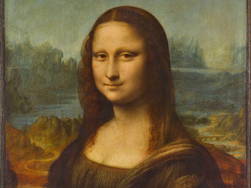 Леонардо да Винчи «Мона Лиза» (Лувр)