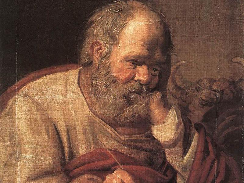 Франц Хальс «Святой Лука» (Пушкинский музей)