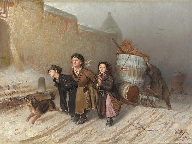 Василий Перов «Тройка» (Русский музей)