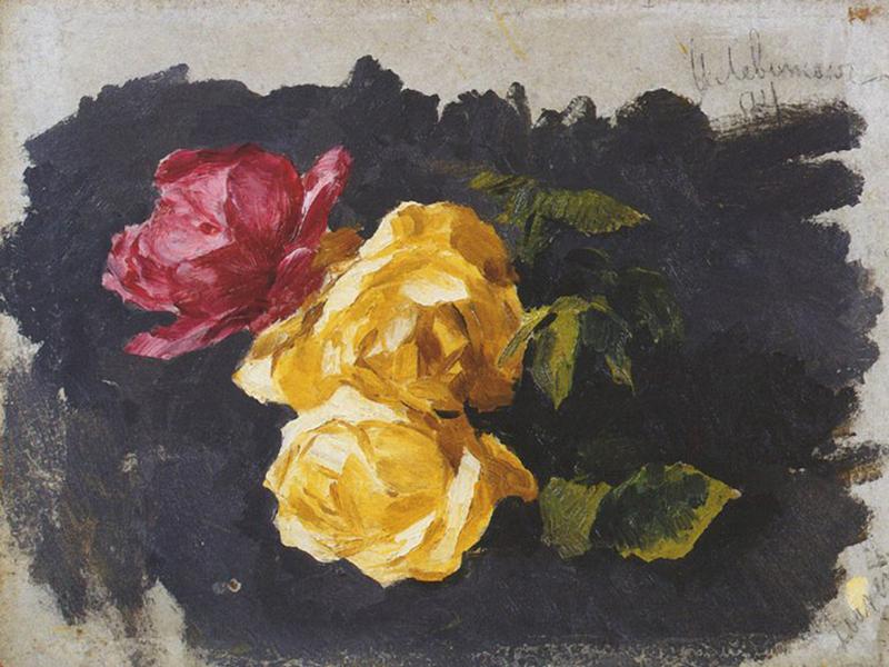 Исаак Левитан «Розы» (Дом-музей Левитана)