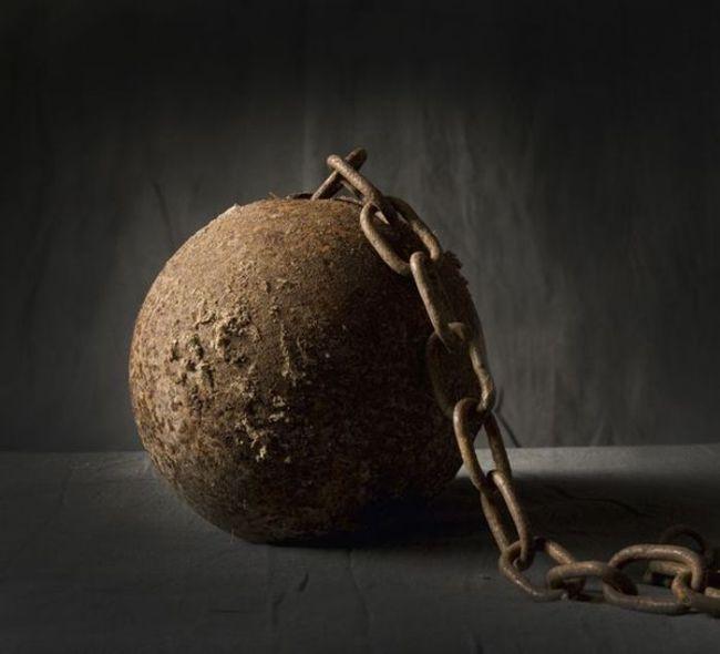 Орудия казни и пыток - колодка
