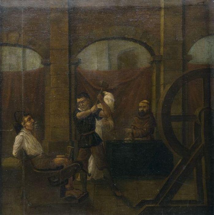 Орудия казни и пыток - картина