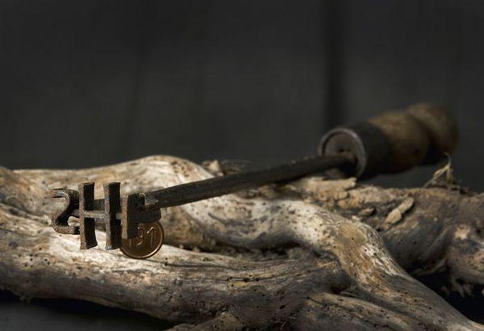 Орудия казни и пыток - клеймо