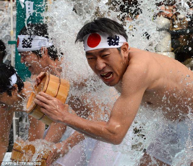 Ритуал очищения души и тела Мисоги в Японии