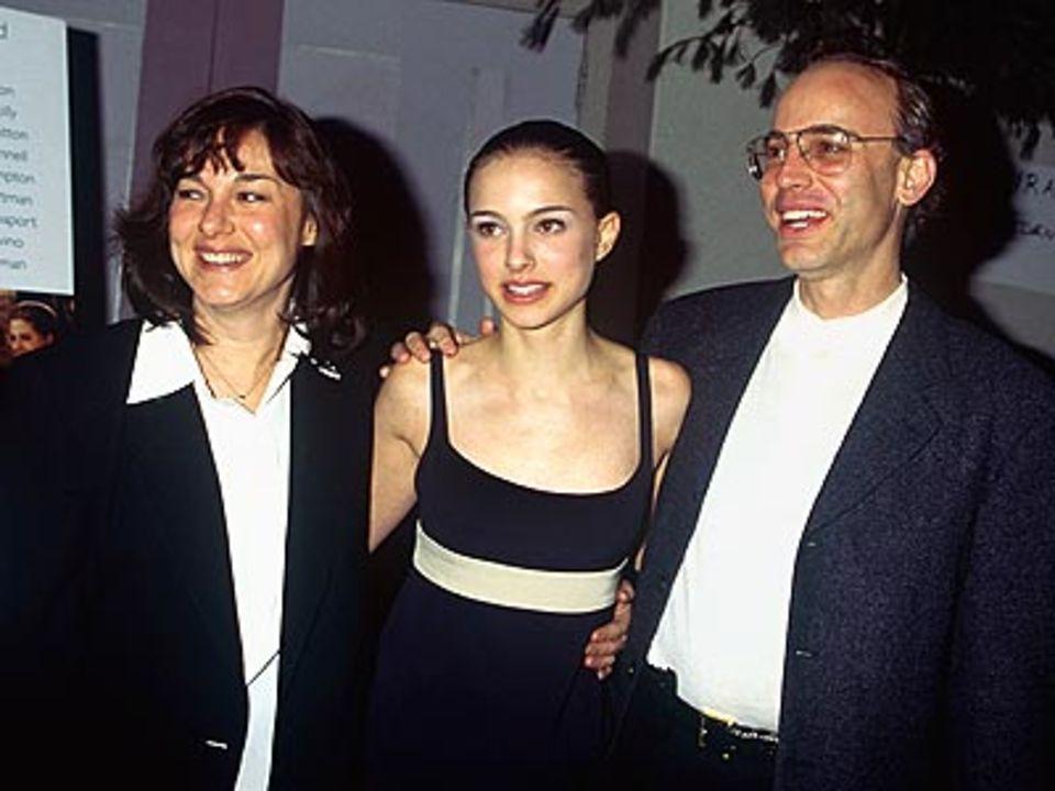 Натали Портман с родителями