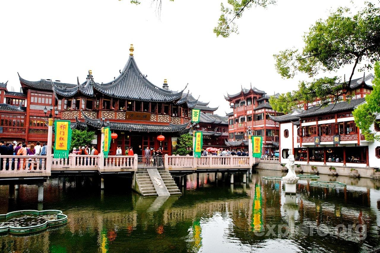 В самом сердце Старого города находится парк Юйюань - «Сад удовольствий»