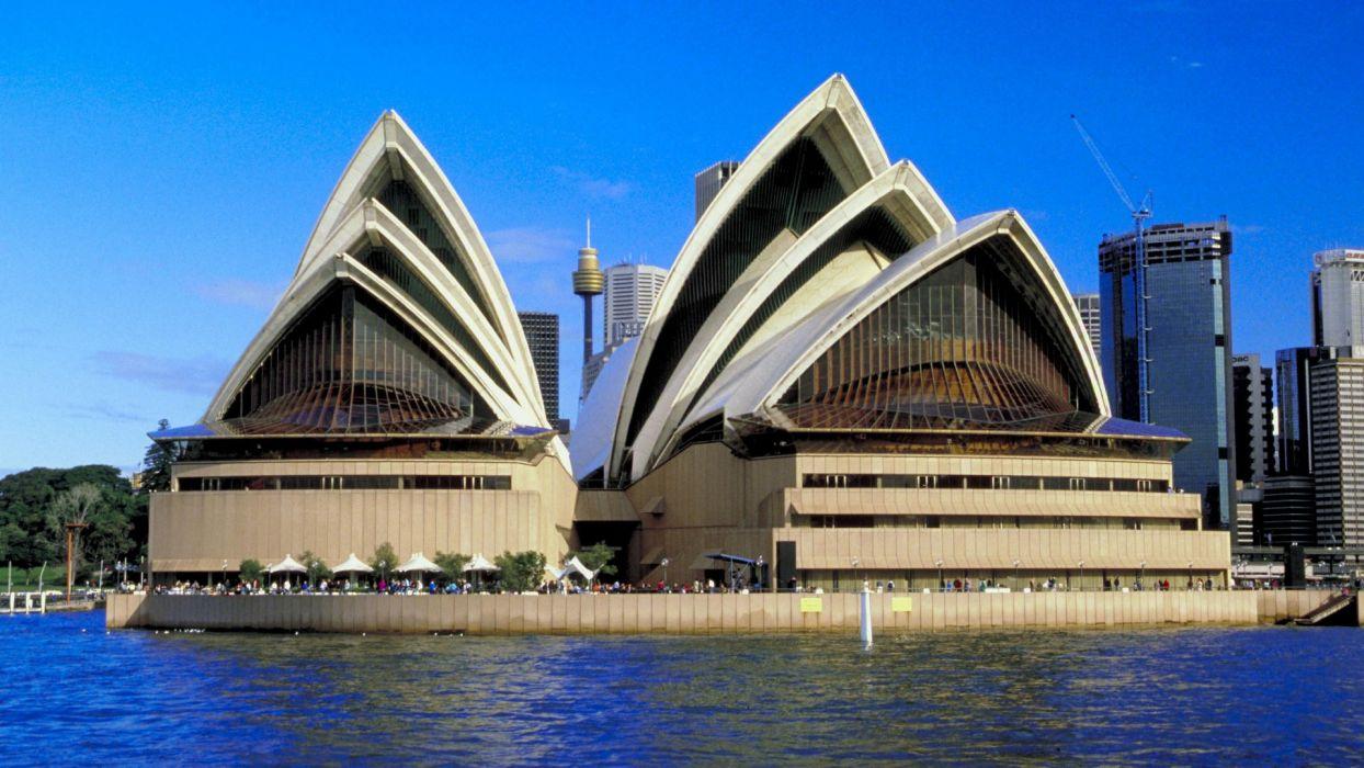 Сиднейский оперный театр - визитная карточка Австралии