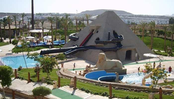аквапарк в Шарм Эль Шейхе