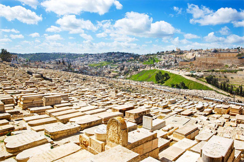 Иерусалим Еврейское кладбище на Елеонской горе