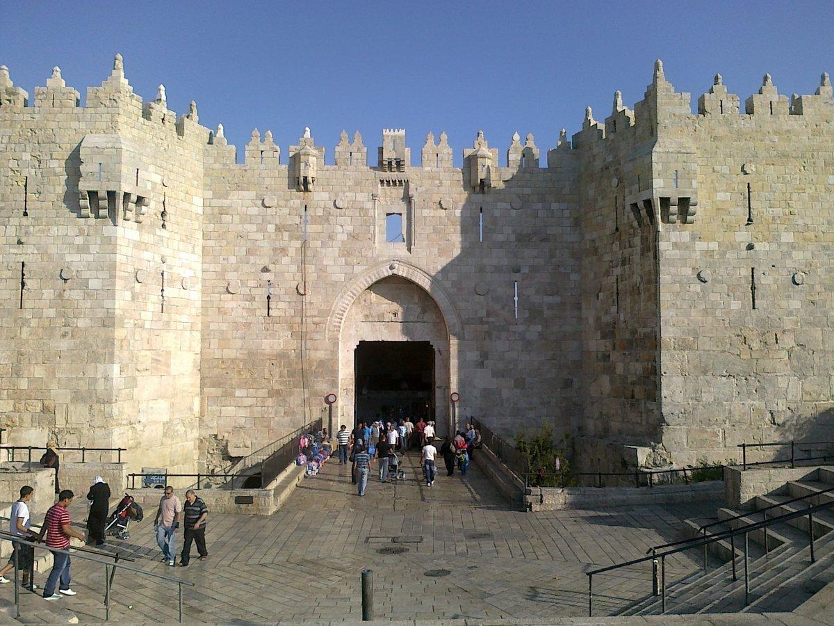 ворота в иерусалиме фото аромат цветов, напоминающий